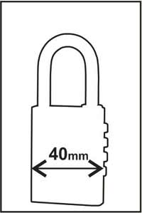 Combination lock brass